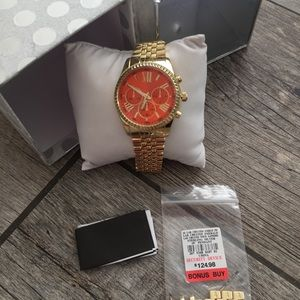 Pumpkin Gold watch
